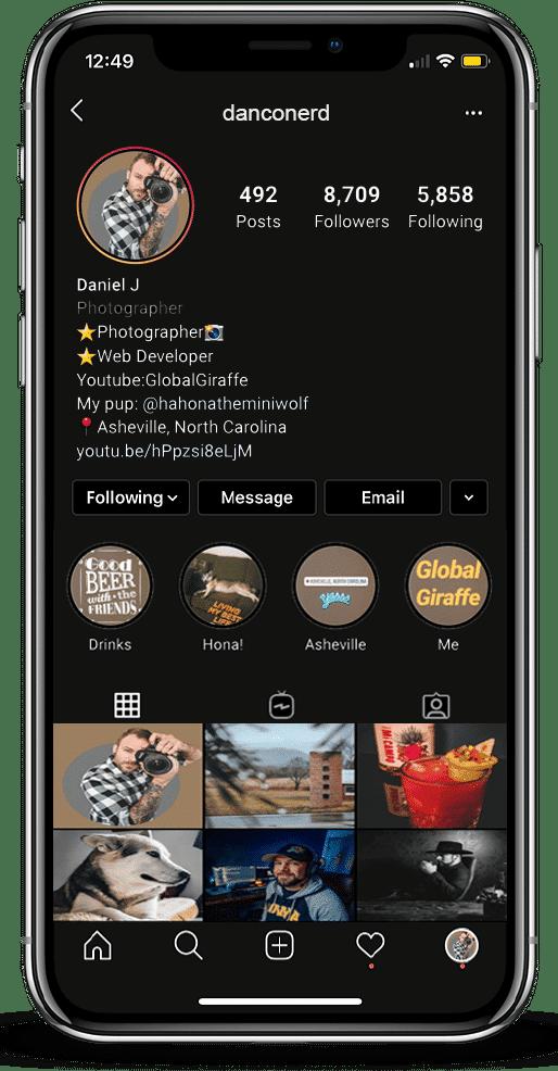 Daniel Conerd Instagram Feed